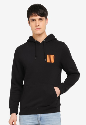 Undefeated black Interjection Hoodie UN888AA0SX4FMY_1