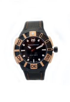 Reef Carbon 45mm Micro-Carbon Case Gold - 514002