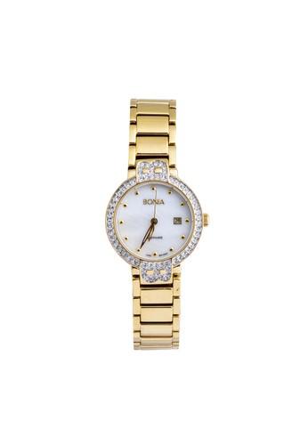 BONIA gold Bonia - B10001-2257S - Jam Tangan Wanita - Gold BO710AC32KZFID_1