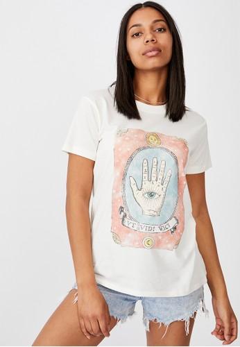 Cotton On white Classic Arts T Shirt C9C9EAA8245349GS_1