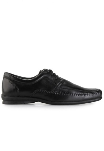 Gino Mariani black Gino Mariani Men's Leather Shoes ORLANDO - BLACK 8A932SHD7805DEGS_1