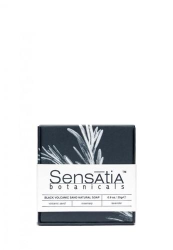 Sensatia Botanicals n/a Sensatia Botanicals Black Volcanic Sand Natural Soap - 25 gr 7332EBE5353E34GS_1