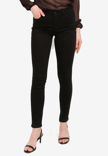 PIMKIE black Mid Rise Jeans 807BBAACC7CA06GS_1