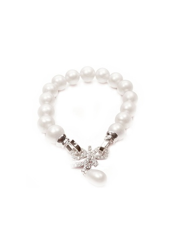 Pearly Lustre silver Pearly Lustre Elegant Freshwater Pearl Bracelet WB00004 92BCEAC466152BGS_1