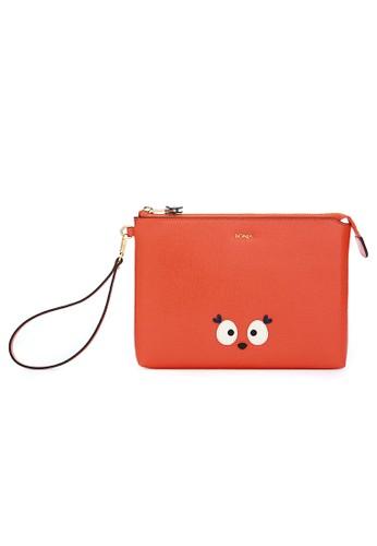 BONIA orange Dede the Deer Mini iPad Case BO710AC92IMPID_1