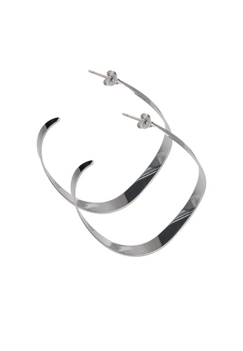niko and ... silver Sculptured Dangle Earrings E3F28ACE98351AGS_1