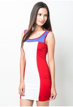 Nesa Short Dress