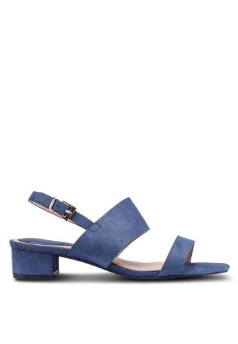 Noveni 藍色 休閒高跟鞋 ECE8BSH5314044GS_1
