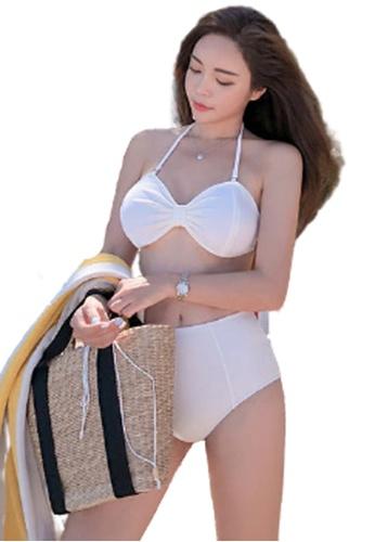 Halo white Sexy Swimsuit Bikini 50378US6C4179EGS_1