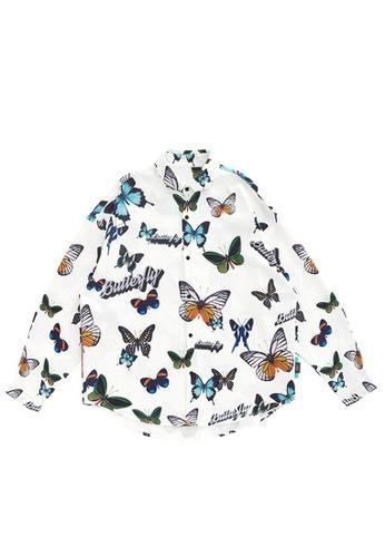 Twenty Eight Shoes Stylish Printed Long Sleeve Shirt 2119W20 47ED1AA4458A2EGS_1