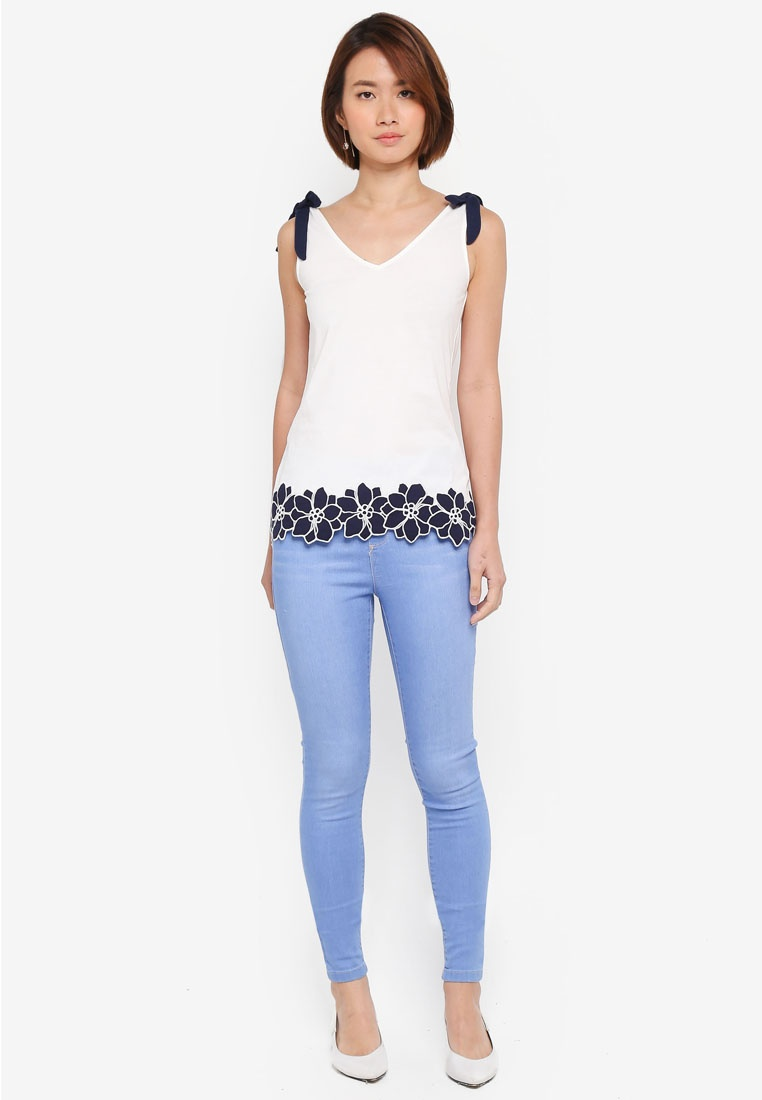 Perkins Blue Ice Eden Blue Jeggings Dorothy Tq1xwn1