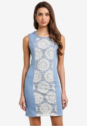 Desigual blue Agatho Sleeveless Dress 22255AA871E0D9GS_1
