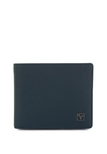 Valentino Rudy navy Valentino Rudy RFID Secure Leather Bi-fold Wallet 47775AC7B5C6D3GS_1