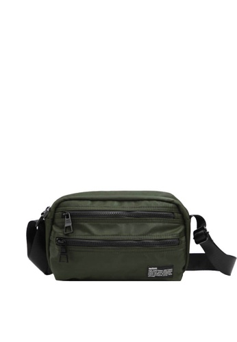 OPTIONS green Lot Messenger Bag 008D8AC22F8A97GS_1