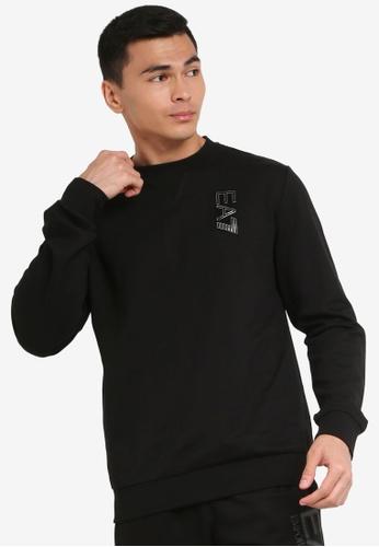 "EA7 black Train Logo Series ""Your 3 In 1"" Sweatshirt 0ECE4AAAC079EAGS_1"