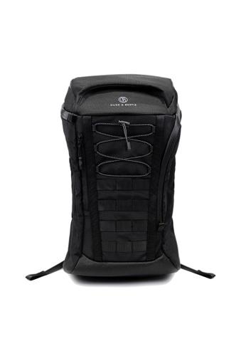 The Dude black Apex Backpack E0965AC8F74C0FGS_1