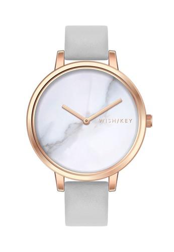 Wish/Key grey Jam Tangan Wanita Wish/Key Valerie WK1009RG/11 99D81AC4901E3EGS_1