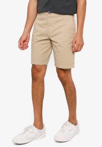 Springfield beige Elastic Chino-Style Bermuda Shorts 78C00AA2788C3EGS_1