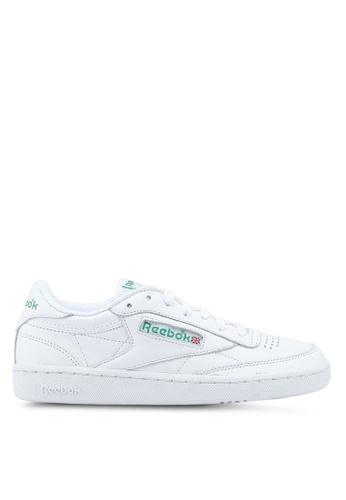 Reebok white Club C 85 Archive Shoes 4C529SHEBAE86EGS_1