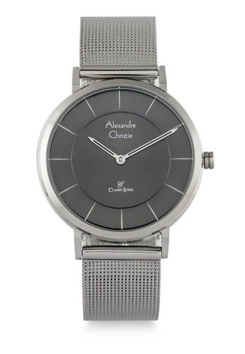 Alexandre Christie silver Alexandre Christie Jam Tangan Wanita - Silver Black - Stainless Steel - 8586 LHBSSBA FF209ACD86ADD9GS_1