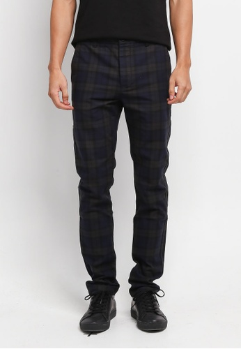 Topman black Watch Stretch Skinny Trousers 687E0AAEEBC91EGS_1