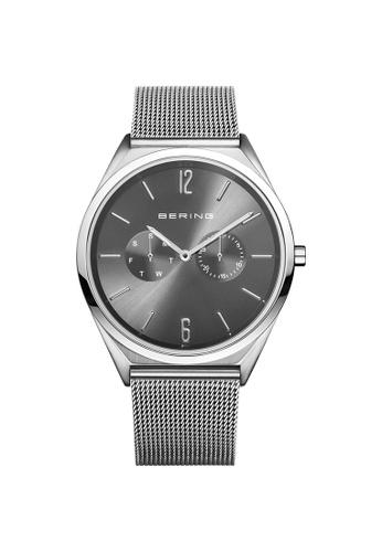 Bering silver Bering Ultra Slim Grey Unisex Watch (17140-009) E4C35AC1C703D0GS_1