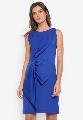 CANVAS blue Fatima Dress Sleeveless with Exaggerated Ribbon 46884AA24F869EGS_1