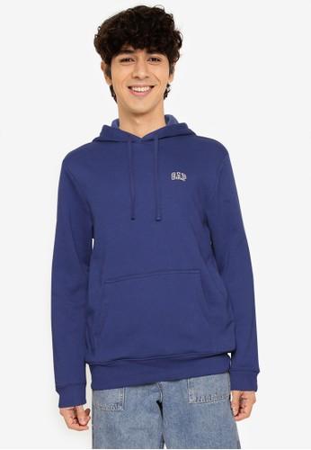 GAP blue Mini Logo Hoodie EF26DAA5FD8472GS_1
