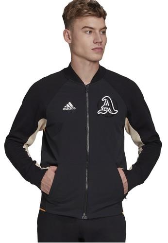 ADIDAS black vrct jacket 81C2FAAB834DAFGS_1