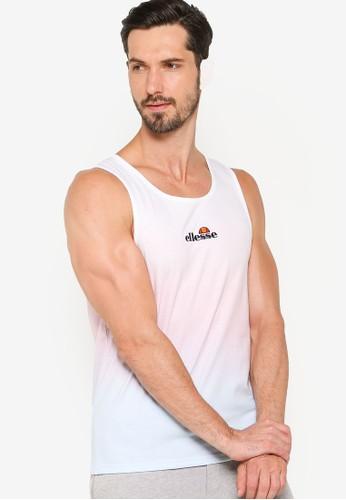 ellesse white Dirmi Vest 1B1FDAA2B55C1FGS_1