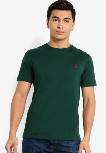 Polo Ralph Lauren green Basic Logo Tee F605FAA9D5F4EFGS_1