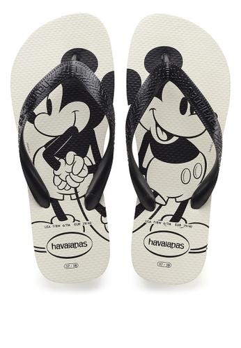 Havaianas white Top Disney Flip Flops 91EDESHE99D996GS_1
