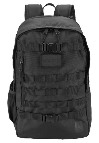 Nixon black Nixon - Smith Backpack - Guerilla-Tactics Black (C2904000) 5E3D4AC47A7A5AGS_1