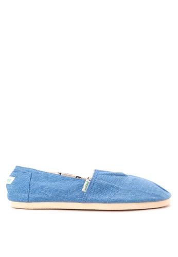 Paez blue Combi Mens Slip Ons PA524SH59LDOPH_1