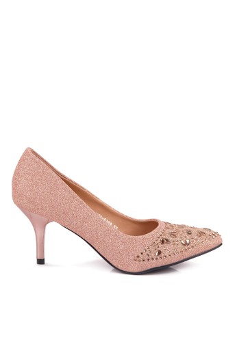 CLARETTE pink Clarette Heels Pamela Pink CL076SH91QMEID_1