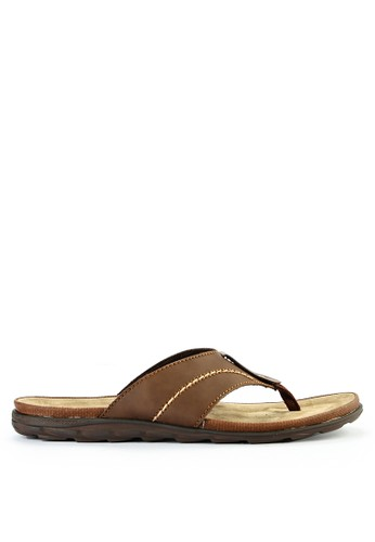 Watchout! Shoes brown Sandals Thong 1AA9DSH93F51D1GS_1