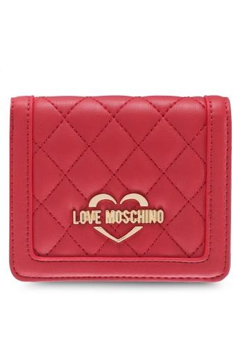 Love Moschino red LOVE MOSCHINO Wallet LO478AC0SXZ1MY_1
