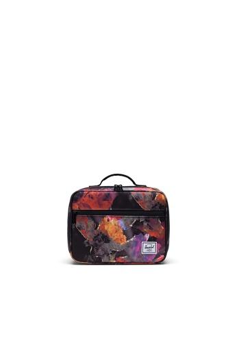 Herschel multi Herschel Pop Quiz Lunch Box - Watercolor Floral B7D4EHLCAEFCA9GS_1