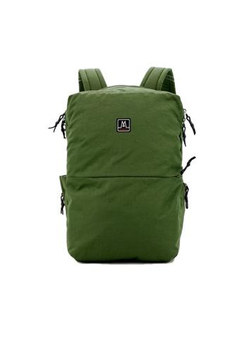 MORAL green Baxter Backpack - Basil 80361AC0357E56GS_1