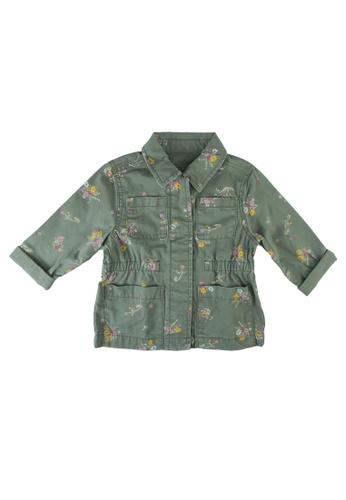 GAP green Utility Jacket BE521KAA893B6BGS_1