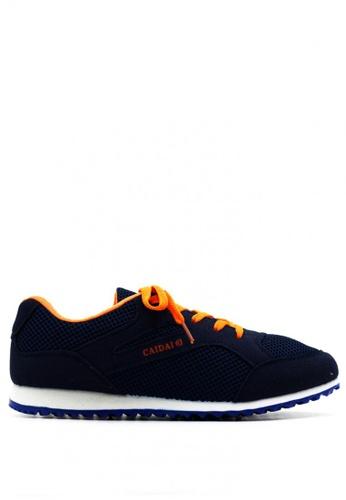 New York Sneakers navy Deion Rubber Shoes NE675SH0J21RPH_1