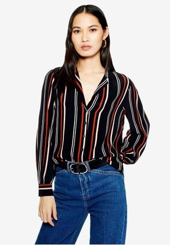 TOPSHOP 多色 Stripe Shirt F1BA9AA41378FEGS_1