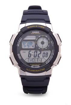 Digital Watch AE-1000W-2AVDF