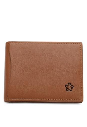 Wild Channel brown RFID Money Clip 03001AC27F3F61GS_1