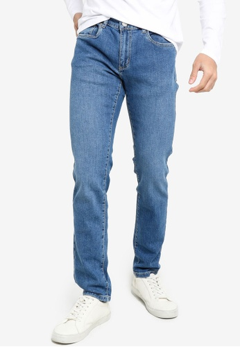 OVS blue Casual Skinny Jeans D4872AA100F3D2GS_1