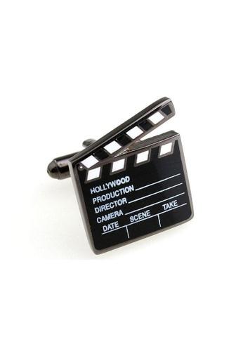 The Little Link Cufflinks black Director cufflinks TH089AC0G300SG_1