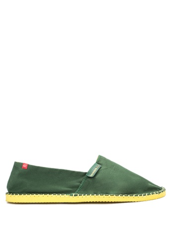 Havaianas yellow and green Origine II Sneakers HA021SH59NTKPH_1
