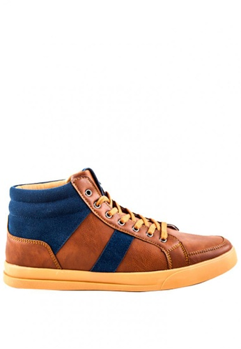 Otto multi High-top Sneakers A3673SHF453835GS_1