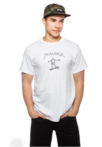 23dd610b Buy Thrasher Thrasher Gonz T-Shirt White Online   ZALORA Malaysia