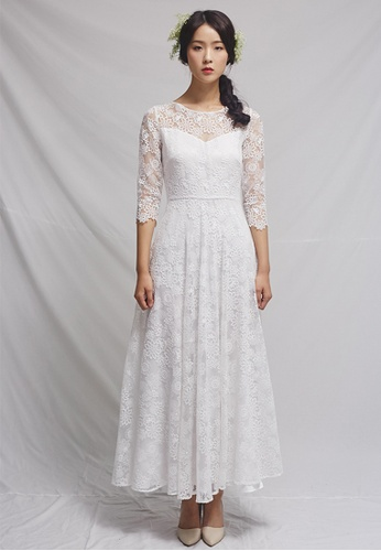 Clair de Lune white Elle Dress CL525AA0GSAFSG_1